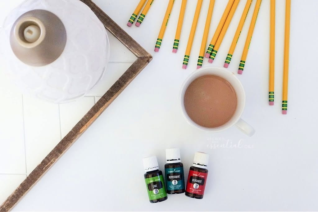 energizing back to school diffuser blend