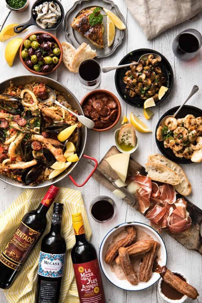 Spanish Food Recipes Tapas