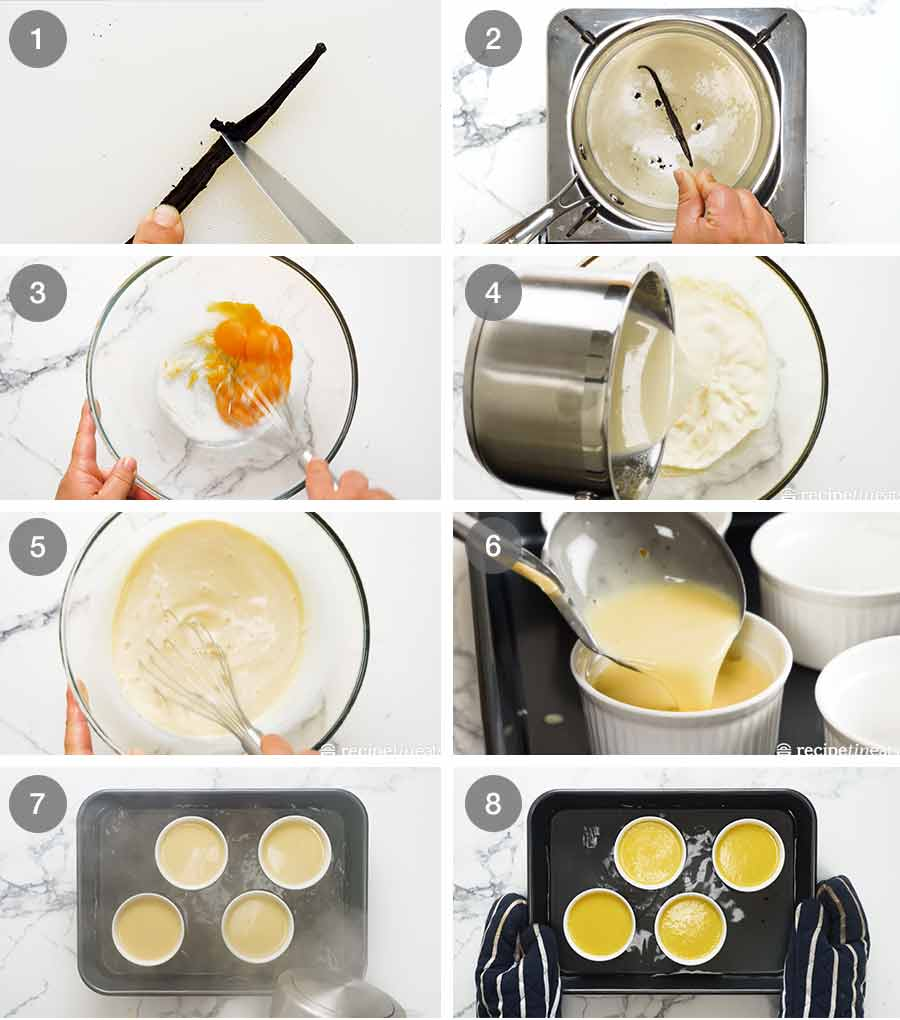 How to make Creme Brûlée
