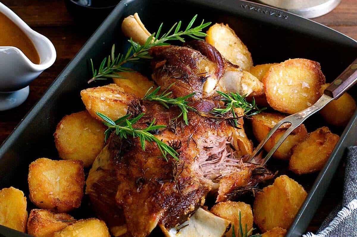 Slow Roasted Lamb Shoulder www.recipetineats.com
