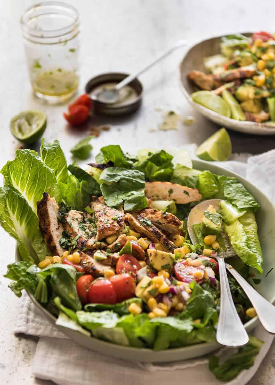 Mexican Chicken Avocado Salad RecipeTin Eats
