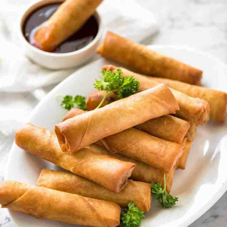 You've never really had a Spring Roll until you've tried homemade ones. With the quick video tutorial, you'll master it in no time! recipetineats.com
