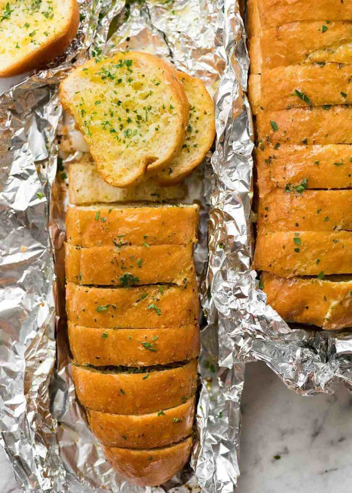 Better than Pizza Hut! For a truly religious Garlic Bread experience, skip the artisan bread and use a basic French stick. And no skimping on butter! www.recipetineats.com