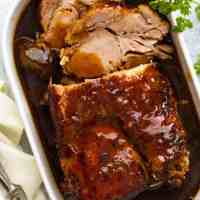Slow Cooker Pork Loin Roast
