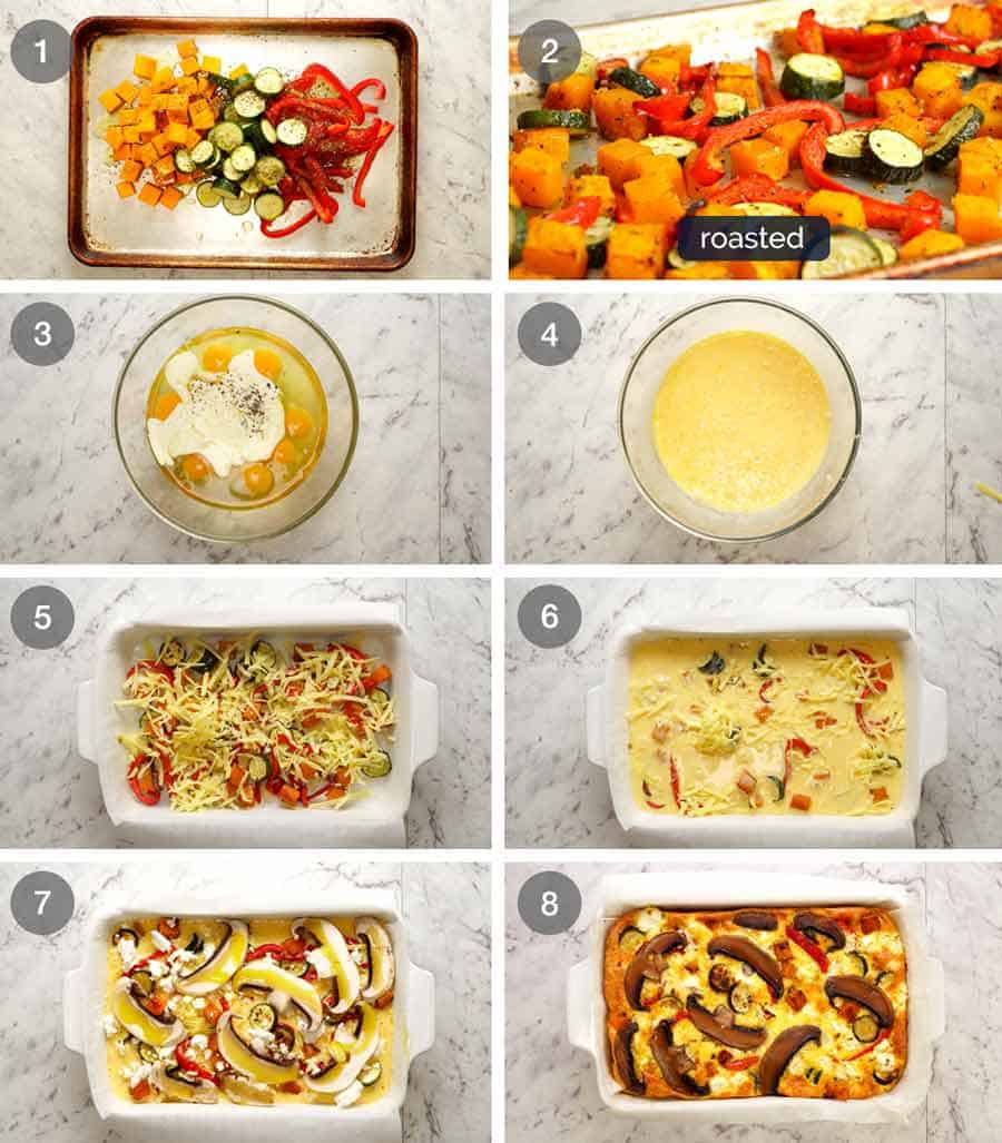 How to make Baked Frittata