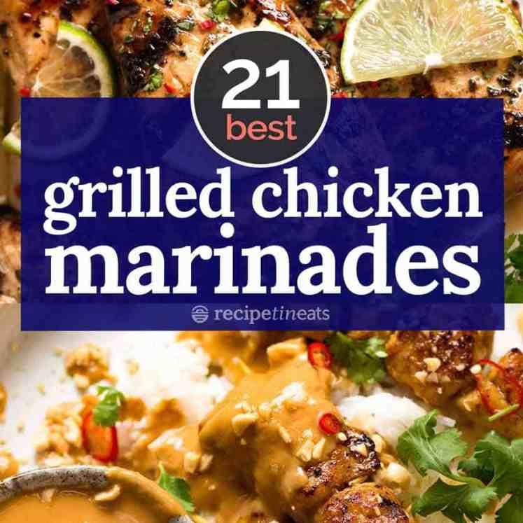 BEST Grilled Chicken marinades
