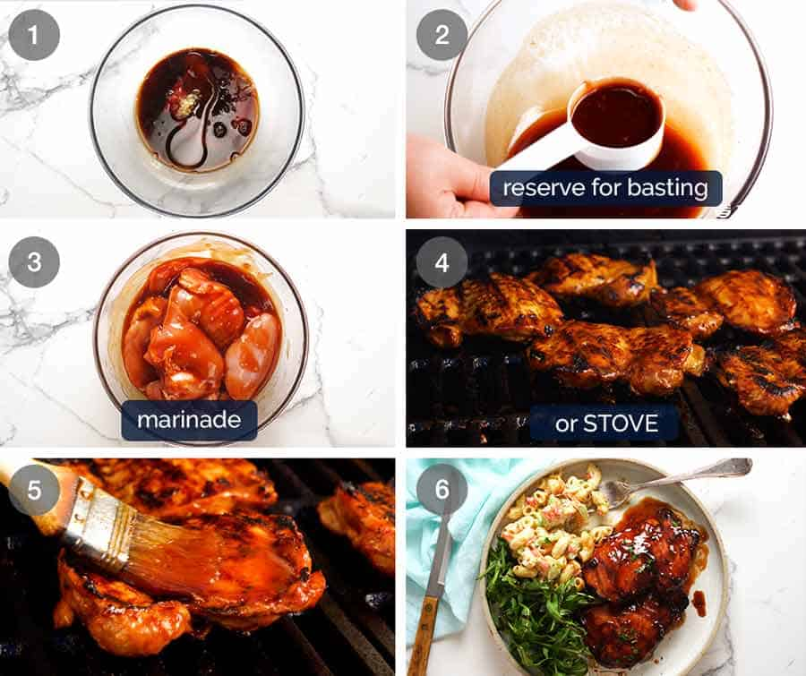 How to make Sticky Grilled Chicken