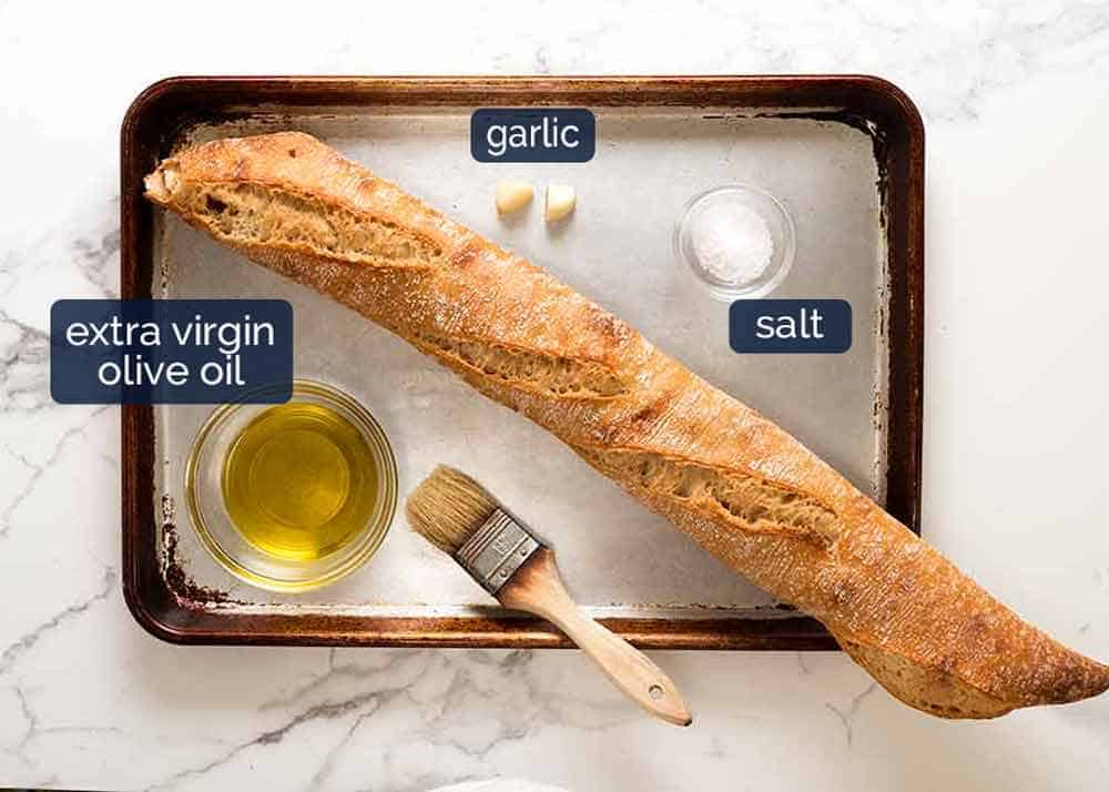 What you need to make Crostini