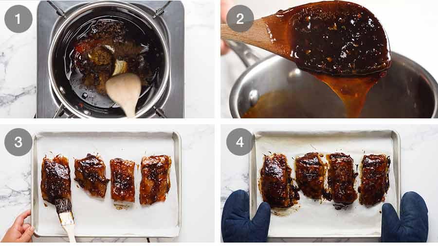 How to make Asian Glazed Baked Barramundi
