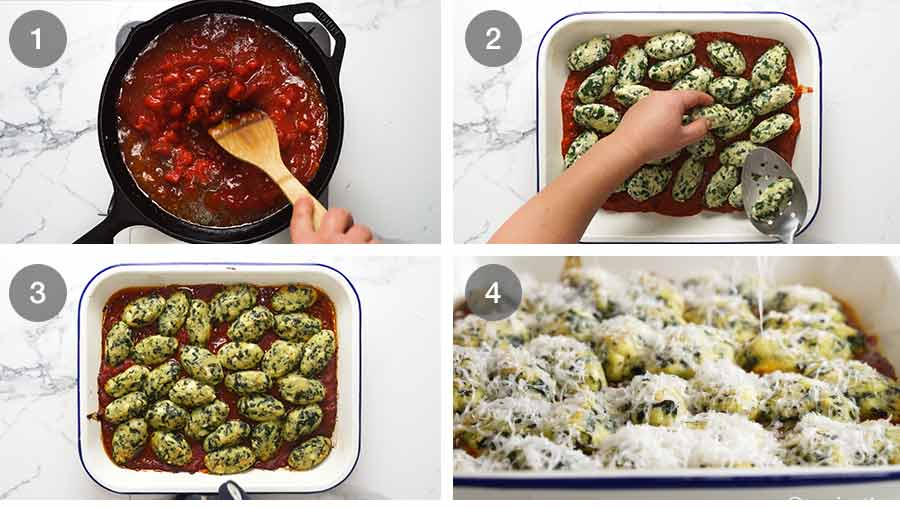 How to make Malfatti - Italian Spinach Ricotta Dumplings