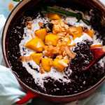 Thai Black Sticky Rice Pudding