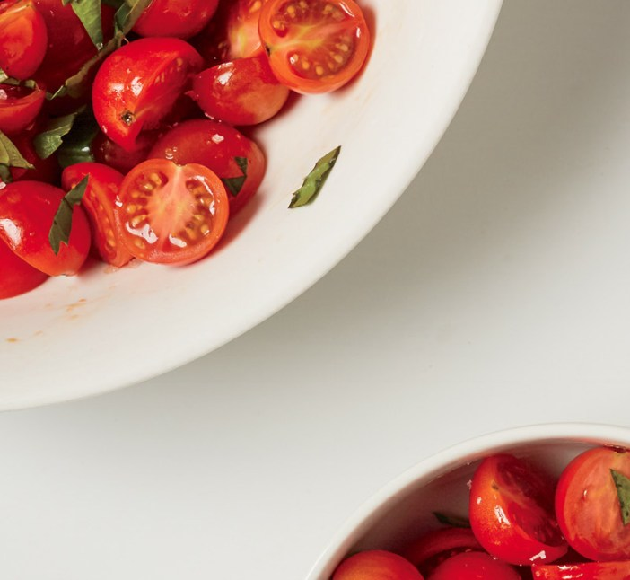 Cherry Tomato Salad with Soy Sauce