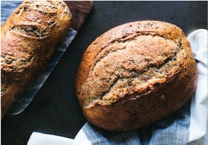Crusty Multigrain Artisan Bread