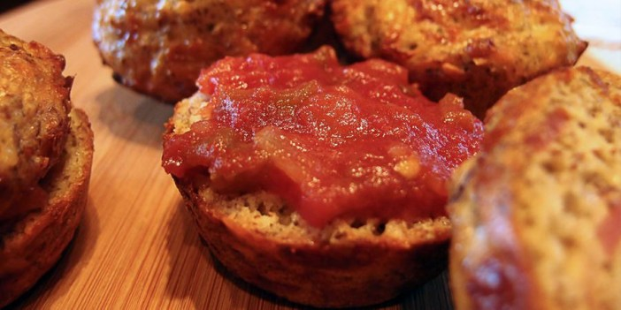 On the Go Pizza Muffins
