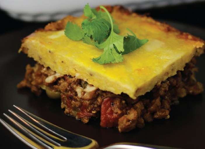 Plantain and Cheese Casserole