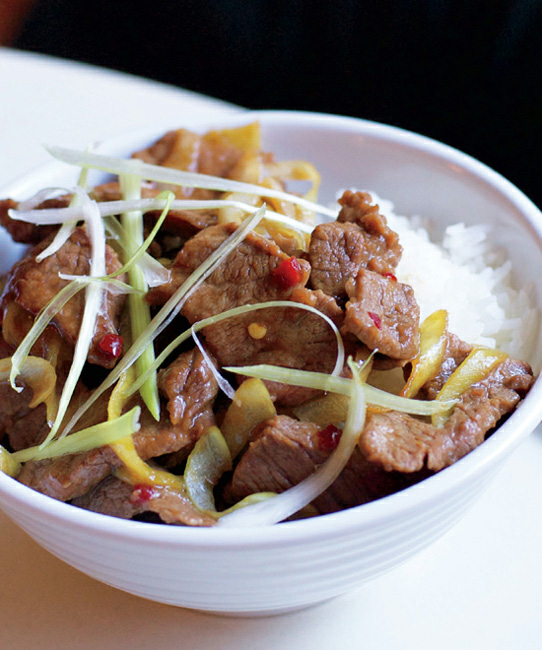 sichuan dry-fried beef