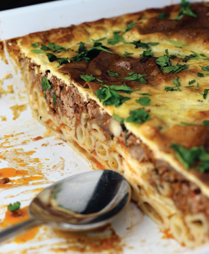 """Don't Call It Pastitsio"" Baked Macaroni"