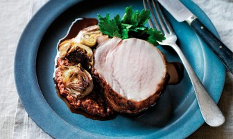 Fennel-Brined Pork Loin