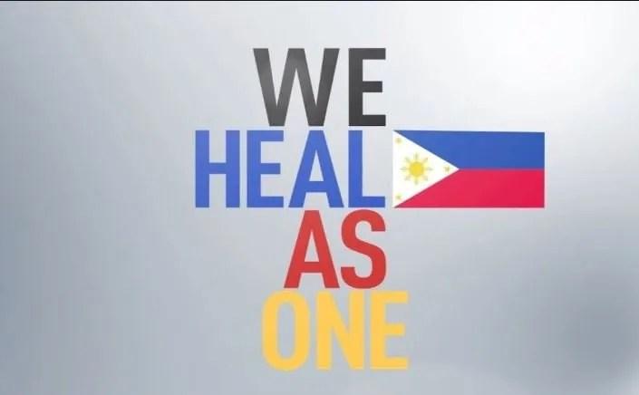 Coronavirus Manila Heal the World we fight as One.