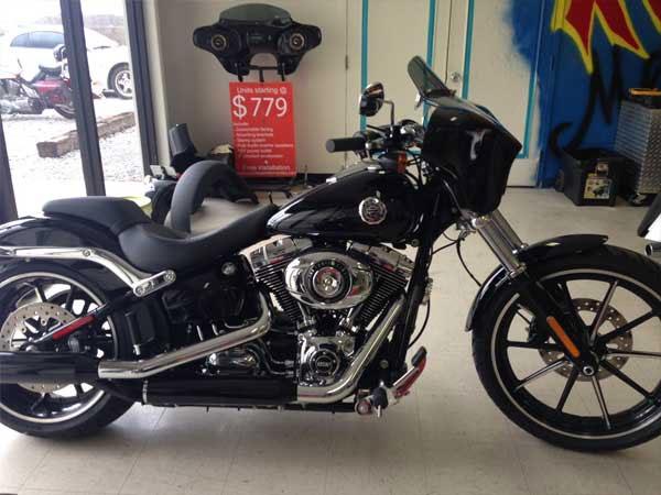 Aftermarket Batwing Fairings Harley Davidson