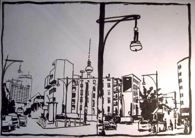Torstraße Tusche