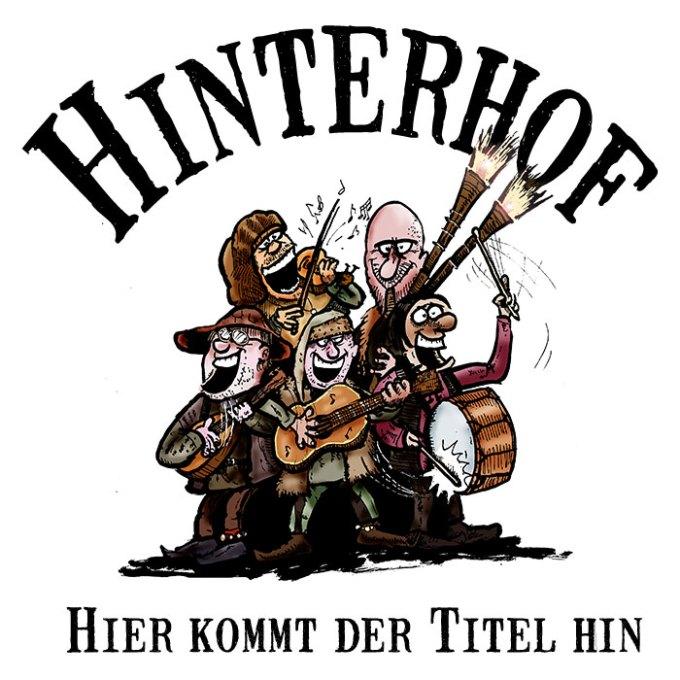 CD Hinterhof Schriftzug