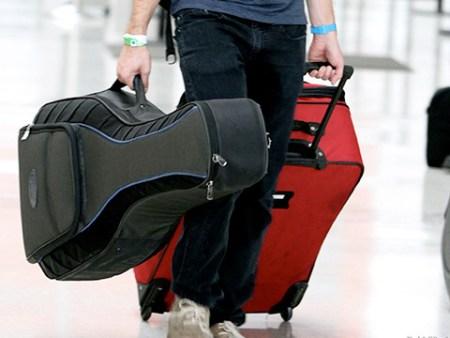 Instrumentos musicales como equipaje de mano
