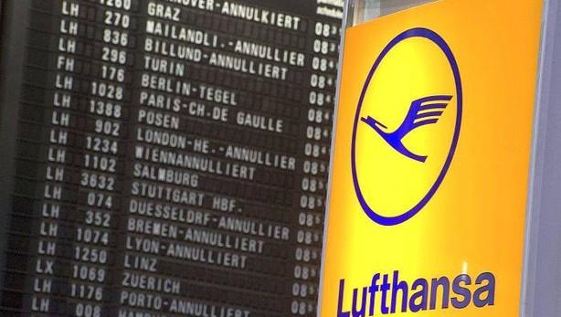 Cancelación de vuelos Lufthansa y Vueling
