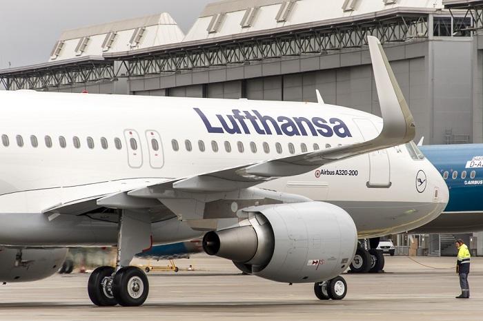 Cancelación de 104 vuelos Lufthansa