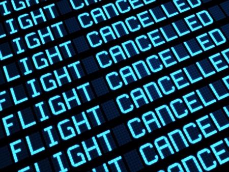 Vuelos cancelados en Los Rodeos por el temporal