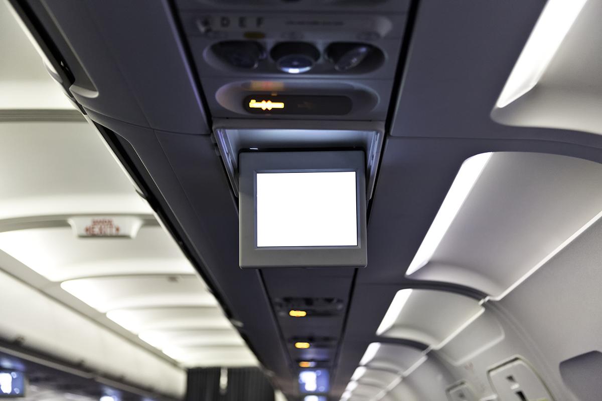 avión de aerolíneas argentinas vacío por un retraso de 6 horas. foto de reclamador.es
