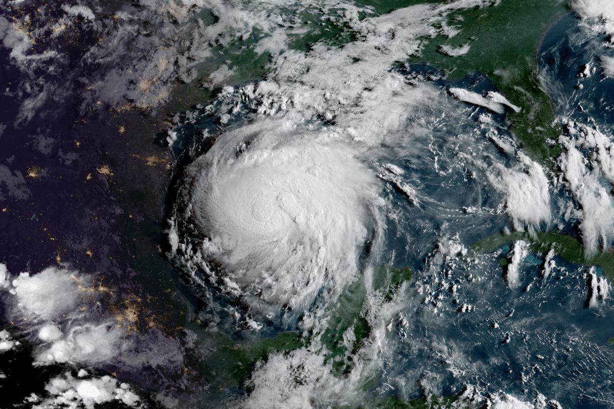 foto del huracán irma