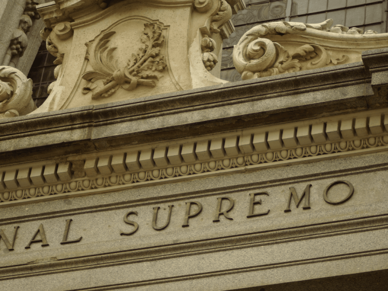 foto del tribunal supremo, sentencia irph.