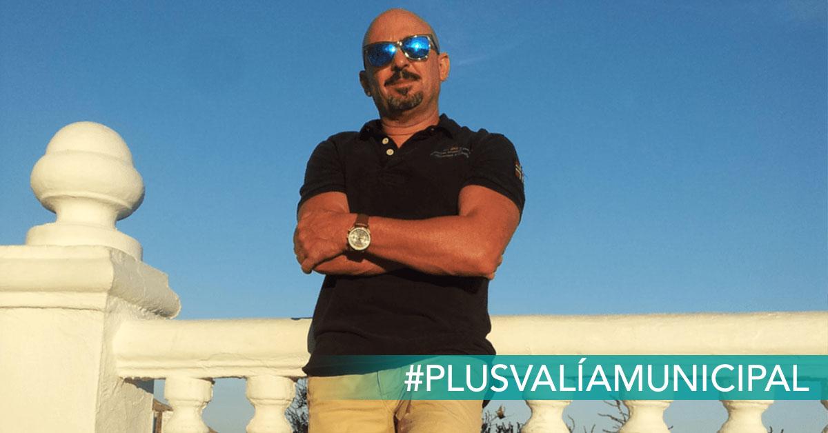 Francisco, afectado por la plusvalía municipal. foto cedida a reclamador.es, compañía online de reclamaciones.