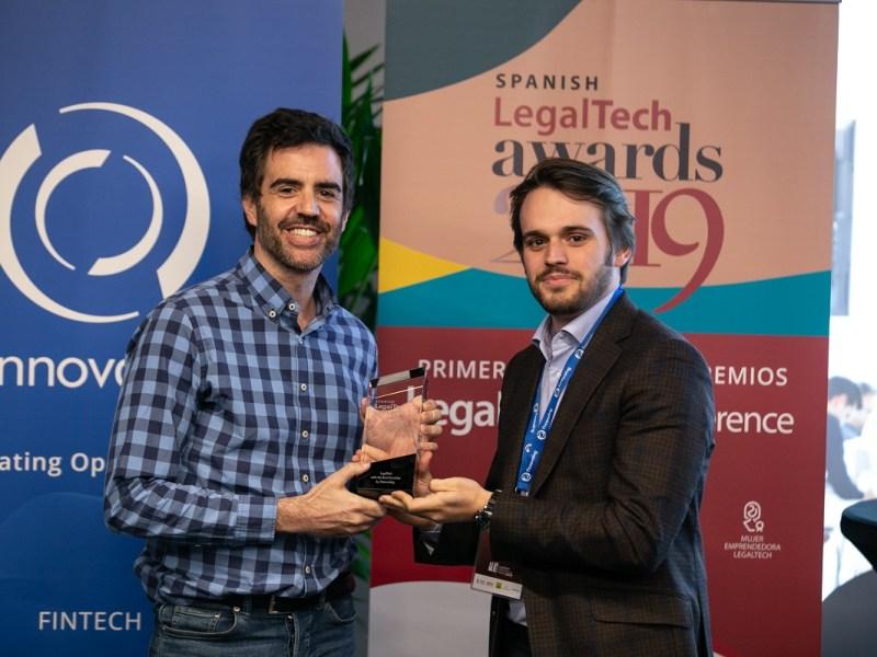 reclamador.es, premio Mejor Ejecución de Negocio en los 'Spanish Legaltech Awards 2019'