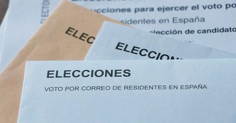 Guía para cumplimentar la solicitud de voto por correo en Internet