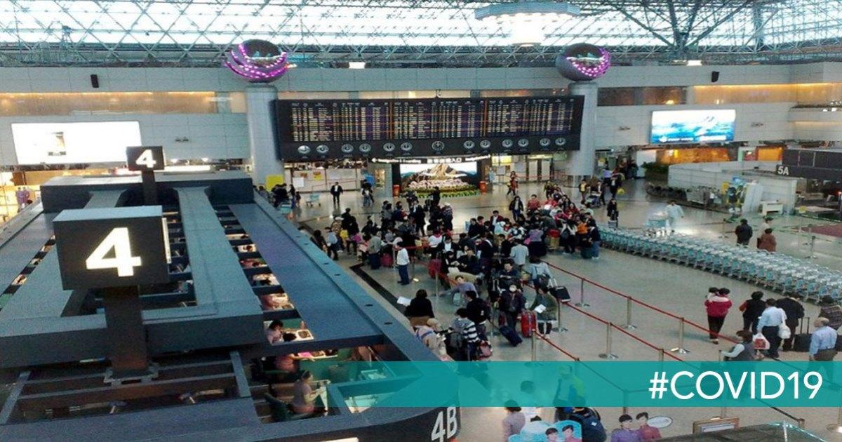 controles sanitarios aeropuertos