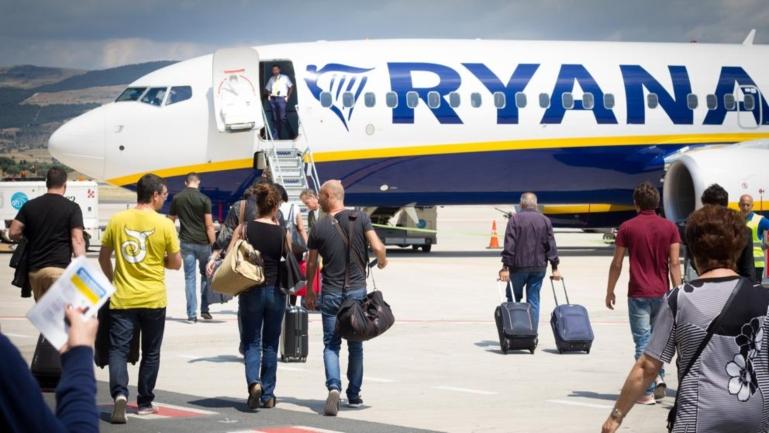 Condenas por la huelga de Ryanair