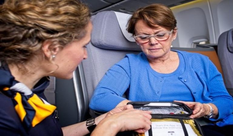 Lufthansa implementa telemedicina en vuelos de larga distancia