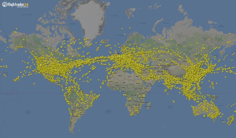 Récord: 230 000 vuelos en un solo día