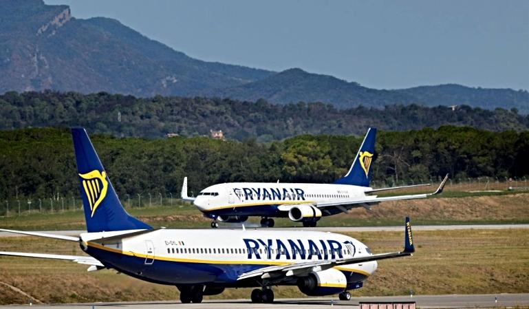 Recortes de Ryanair en la base de Girona