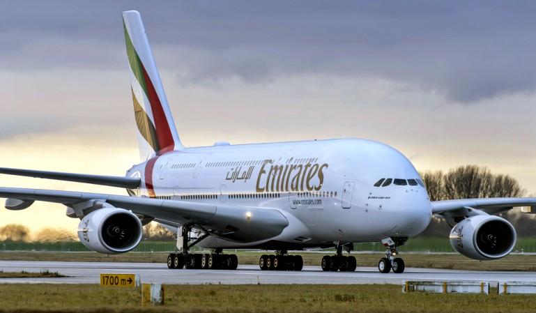 Emirates retomará el vuelo el lunes 6 de abril