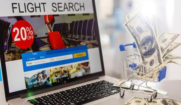 ¿Qué riesgos y ventajas tienes al reservar un vuelo online?