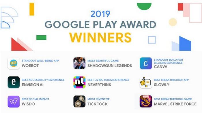 Daftar Aplikasi dan Game Android Terbaik Versi Google Play Store 2019