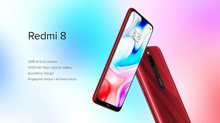 Spesifikasi Redmi 8, Usung RAM 4GB Harga Cuma Sejutaan