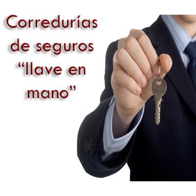 Correduria de seguros llave en mano