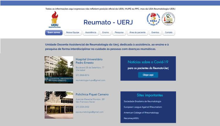 Conheça o novo Site Reumato – UERJ