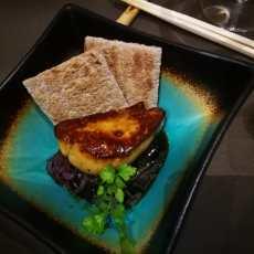Teriyaki de foie (Restaurante Soy Pedro Espina)