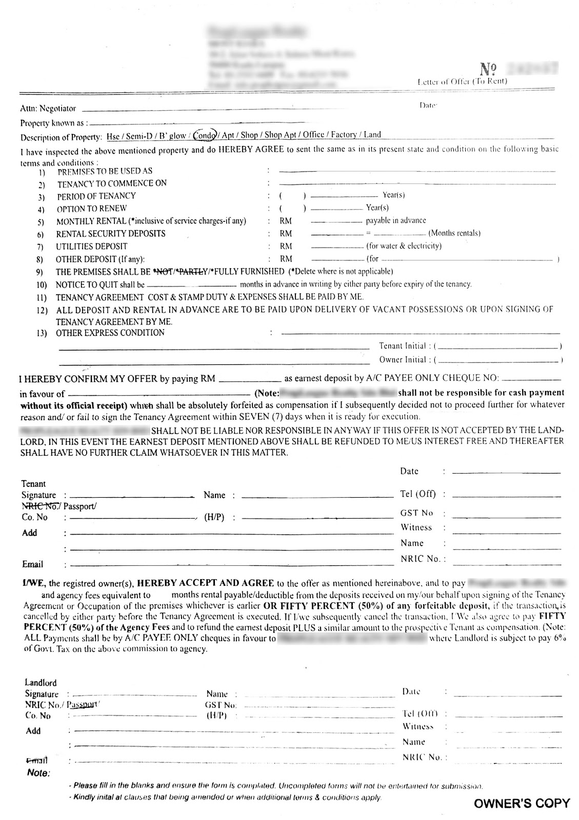 Furniture rental agreement template, running a business involves establishing professional relationships with several parties including suppliers, clients and equipment leasing companies, building owners, employees and much more. How To Write Your Own Tenancy Agreement In Malaysia Recommend My