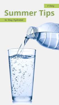 5 Easy Summer Tips to Stay Hydrated